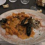 Sea food all'Ouzo
