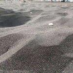 Beautiful black sand