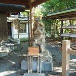 村上彦四郎義光の木像