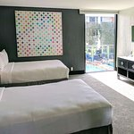 2 Queen Junior Suite with Pool view