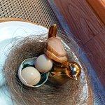 第一道菜 煙鴨胸配煙燻蛋