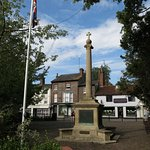 a mention of the war memorial in town...