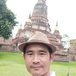Wat Yai Chai Mongkhon Located in Phra Nakhon Si Ayutthaya province Is a beautiful temple Not far from Bangkok.