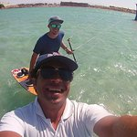 Cool kiteboarding with Kite-Active team