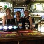 Landlady Lynn and team at the White Hart