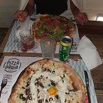 Fotografia de Pizza na Praia