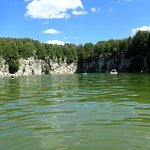Elora Quarry - view from the water