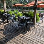 Marche Burette Deli - back deck (outside seating)
