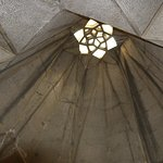 Photo taken from inside the Azadi Tower in Iran