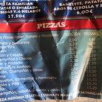 Precios excelentes en Pizzas Liberty.