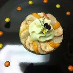 Scallops, sea urchin, lobster, fenel