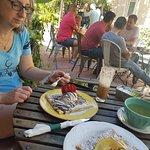 Crepes at A La Folie Cafe, Espanola Way, Miami Beach
