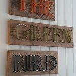 The Green Bird Cafe Foto
