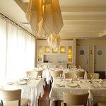 "Beautiful classic décor at ""Restaurante Tia Alice"" in Fátima."