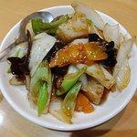 炒飯 花の写真