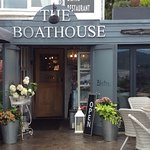 Exterior of The Boathouse Cafe/Restaurant