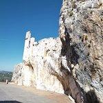 """Arriving at """"Castillo de Zuheros"""" in Zuheros."""