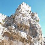 "At the top of the rock, the ""Castillo de Zuheros"" in Zuheros."