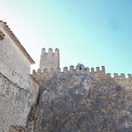 """Another view of the """"Castillo de Zuheros"""" in Zuheros."""