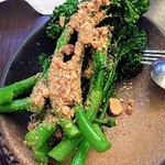 Broccolini in burnt butter