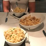 Lobster Mac n Cheese with Truffle Fries & Parmesan