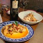 """L'Olivo - Appetizer, Shrimp Salad, Octopus """"a la gallega"""""""