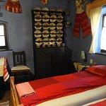 Onze kamer geheel traditioneel ingericht