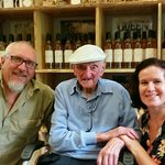 Poppo Coates visiting the meadery