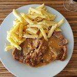 Roti de veau aux pennes