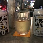 The House White Wine Which Comes in Cans