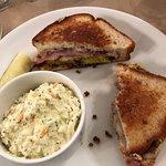 Cubano sandwich on GF bread