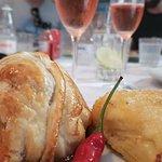 Filet en Croûte com batata gratinada e espumante rosé