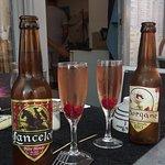 Choix des bières et originalité dans la présentation du Kir