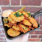 Fried Pickles and Jalapeños