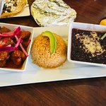 Cochinita Pibil with Black Beans and Rice