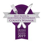 Abbey Hotel Roscommon County Winners of Best Hotel Restaurant 2019