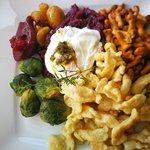 Bergrestaurant Blatten Foto