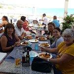comida frente a la palya en Alcosebre REST, Mirador buenisimo