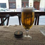 Soproni sör and swedish snus , great combo .