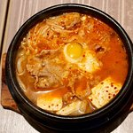 首尔石锅烧照片