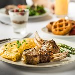 Now serving made-to-order omelets and Belgian waffles at Weekend Brunch.