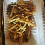 This was delivered and was meant to be dirty fries.