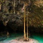 Cenote Sac Actun.
