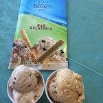 Delicious treat of Gelato