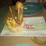 Ensaladilla rusa con mayonesa de wasabi