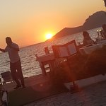 Sunset Yalıkavak resmi