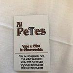 Fotografie: Al Petes Vino e Cibo in Cittavecchia