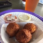 Hush puppies (that actually have a Zagat's rating!)
