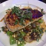 GG's Local Swordfish - Japanese blackened with 7 spices