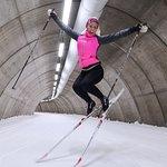 Det är kul att åka skidor och dessutom riktig bra träning!